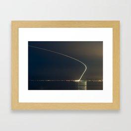 Take off from Nice Framed Art Print