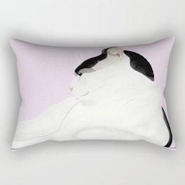 Touss on Lilac  Rectangular Pillow