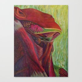 neck Canvas Print