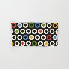 Circle Pattern Hand & Bath Towel