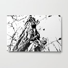 Abstract Vines Metal Print