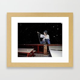Sasuke Uchiha (Burnsville NC) (Naruto Shippuden) Framed Art Print