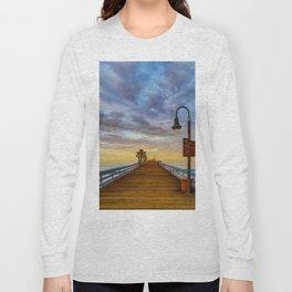 Magical San Clemente Pier Long Sleeve T-shirt