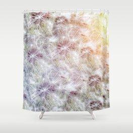 Dandelion Sunrise Shower Curtain
