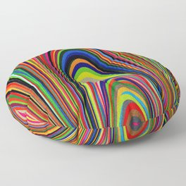Colorful Arches Floor Pillow