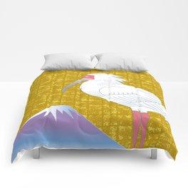 TOKI and Mt.Fuji on Gold-leaf Screen Comforters