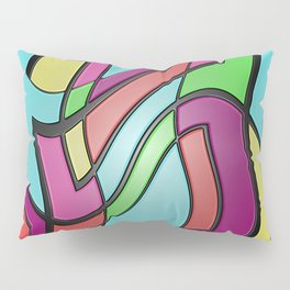 Shake Rattle and Roll Pillow Sham