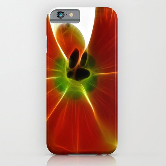 Fractal Tulip iPhone & iPod Case