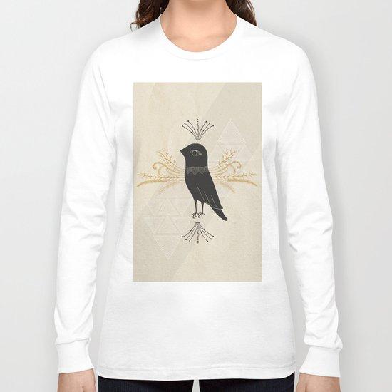 Black Bird Long Sleeve T-shirt