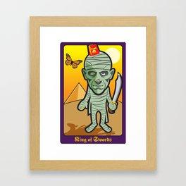 King of Swords Framed Art Print