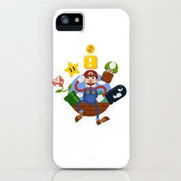 Mario-A-GoGo! iPhone Case