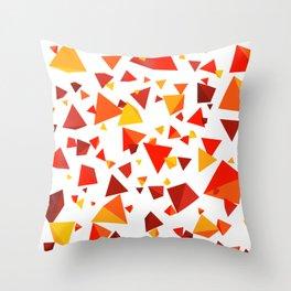 SuperHOT - Triangle Debris Pattern Throw Pillow