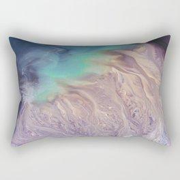 Colour Storm Illusion Rectangular Pillow