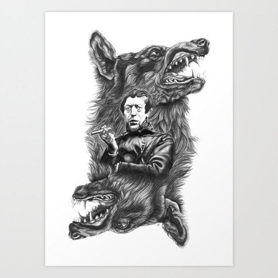 Ego Art Print