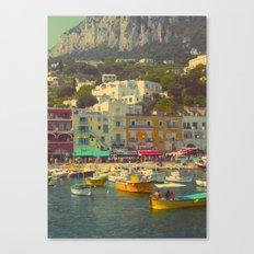 Capri, Italy Canvas Print