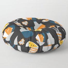 Orange juice Floor Pillow