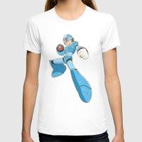 mega man T-shirts featuring Mega-Man by HypersVE