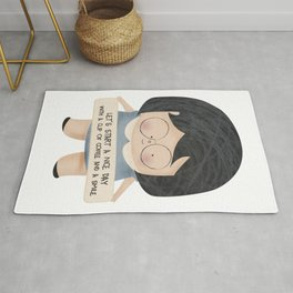 Let's start a nice day Rug