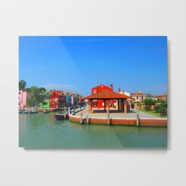Drunken Fishermen Metal Print