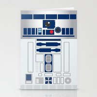 r2d2 Stationery Cards featuring R2D2 by ANDY