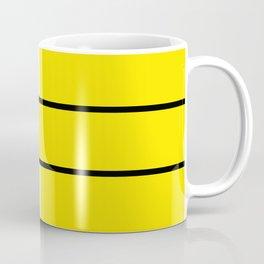 Team colors 6....Yellow,white Coffee Mug