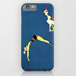 """Diving Board"" by Annie Fish iPhone Case"