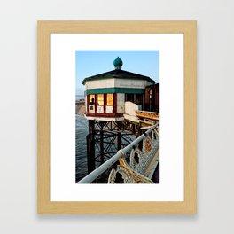 North Pier Blackpool Framed Art Print
