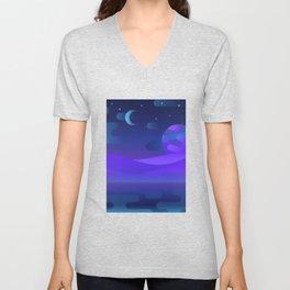 Otherworldly Scenery Unisex V-Neck
