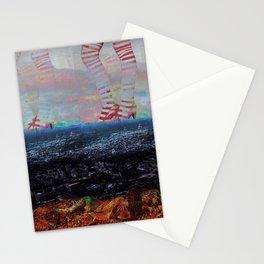 candy glitch Stationery Cards