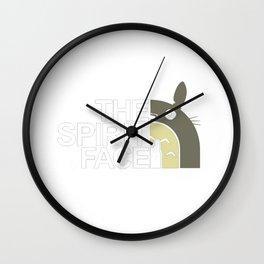 The Spirit Face Wall Clock