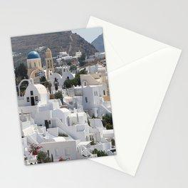 Santorini Island  Stationery Cards