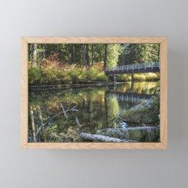 Fall at Clear Lake, No. 2 Framed Mini Art Print