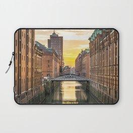 The Speicherstadt (Hamburg, Germany) Laptop Sleeve