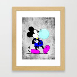 The Mouse Framed Art Print