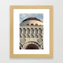 Mausoleum Framed Art Print