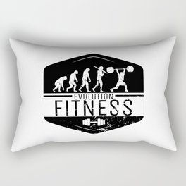 Evolution Fitness | Workout Training Muscles Rectangular Pillow