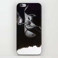lou reed iPhone & iPod Skins featuring Lou Reed Is Dead by Tom Christophersen Creates