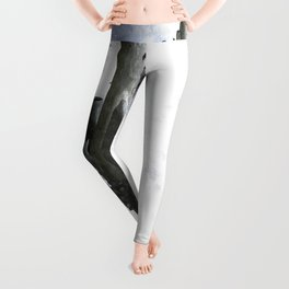 Qatar Airlines airbus A380 Art Leggings