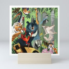 Ussuriland  Dersu´s dream Mini Art Print