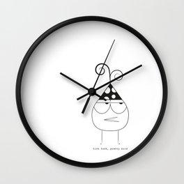 Birthday Bird Wall Clock
