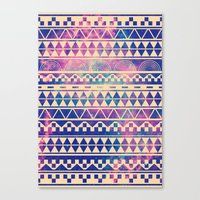 geometric Canvas Prints featuring Substitution by Mason Denaro