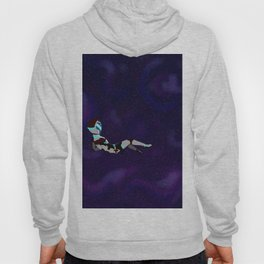 Floating in space Hoody