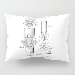 Phillips Screwdriver: Henry F. Phillips Screwdriver Patent Pillow Sham