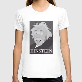 Einstein In Cartoon Stlye T-shirt