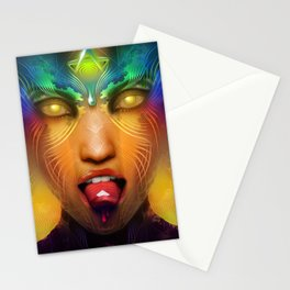 Vermilion Tongued Siren Stationery Cards