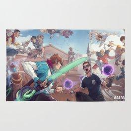 2017 NA LCS Summer Finals Promo HD Wallpaper Background Official Art Artwork League of Legends lol Rug
