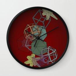 Geo Platonicus Wall Clock