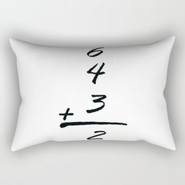 baseball 6 4 3 2 Rectangular Pillow