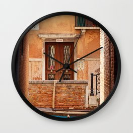 Venice Intersection - Venice, Italy Wall Clock