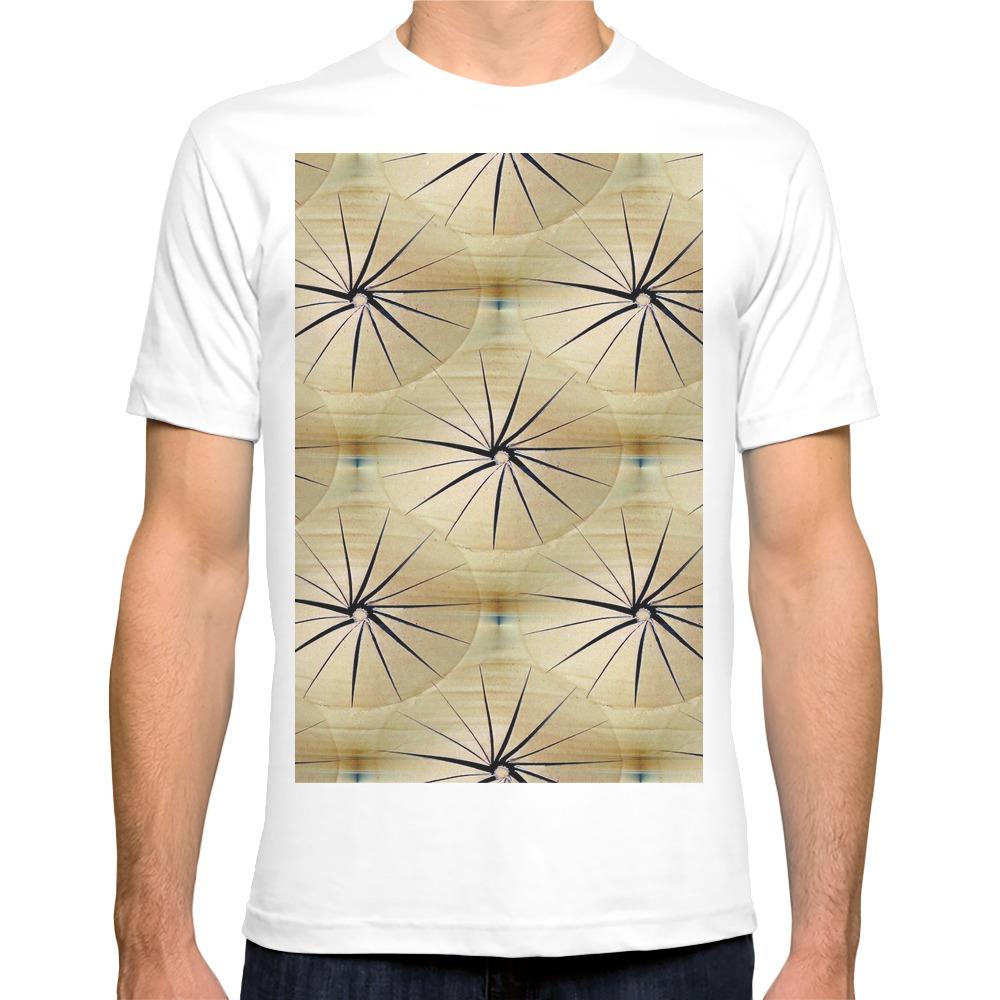 Paper Parasols T-shirt by artisimo (TSR7740657) photo